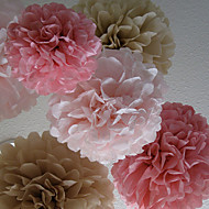 Wedding Décor 14 inch Paper Flower - Set of 4 (More Colors)