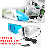 Auto version 60W Mini 12V High-Power Auto Wet and Dry Portable Handheld Hoover Car Vacuum Cleaner Dust Collector
