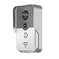 Smart WiFi Video Doorbell for Smartphones & Tablets, Wireless Video Doorphone, IP Wi-Fi Camera
