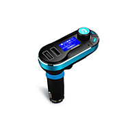 Wireless Hands-free Bluetooth Car Kit  FM Transmitter MP3 Player With Dual 2.1A USB Charging,Support USB/SD/Aux-in