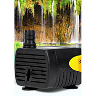 Water Pumps / Filters Noiseless Plastic Black 3W 220V ~ 240V 50CM 200L/h