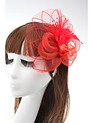 Rose Flower Fascinators Hair Jewelry