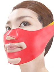 Japanese Magical 3D Massage Mask Face-lift Plastic Silicone Material