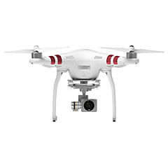 DJI® Phantom 4/Phantom 3 Standard 2.4 GHz Drone RC Quadcopter Double Batteries Inside (Complete With Gimbal And Camera/Continuous Fight 25 Mins)