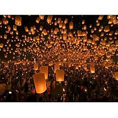 Hot Air Balloon Sky Lantern Flying Lanterns Wishing Lamp