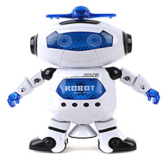 360 Rotating Children Electronic Walking Dancing Smart Space Robot Kids Cool Astronaut Model Music Light Toys