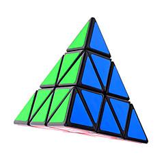 Shengshou® Smooth Speed Cube Pyraminx / Alien Magic Cube Black Plastic