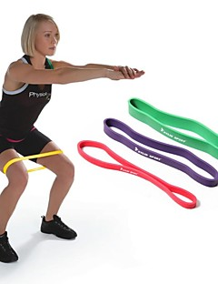 Red 100% Natural Latex Resistance Band LOOP Fitness Exercise Pilates Yoga Exercise Tubing RYG
