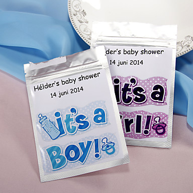 Personalized Tea Bag For Baby Shower
