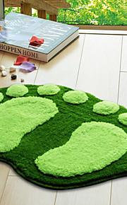 hvid grøn badeforhæng